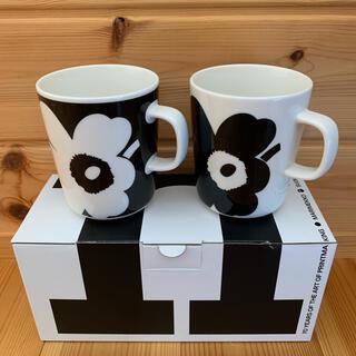 marimekko -  【新品未使用】 マリメッコ創立70周年記念のマグカップ2個セット