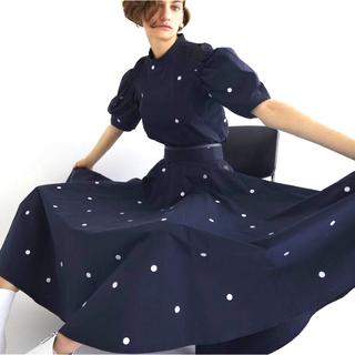 Drawer - 新作 新品タグ付き she tokyo Rachel dot スカート