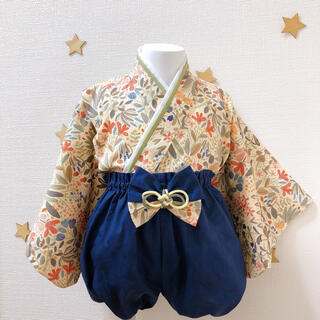 ハンドメイド✿ベビー袴(和服/着物)