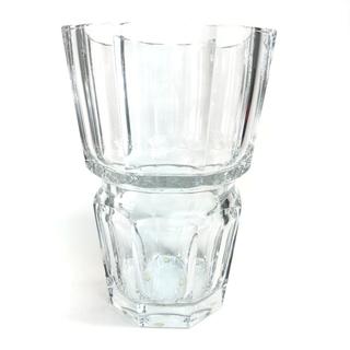 Baccarat - バカラ エディス フラワーベース 八角形 花瓶 クリア クリスタルガラス