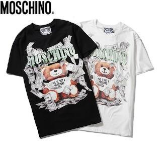 (2枚8000円送料込み)MOSCHINO#1627 半袖Tシャツ