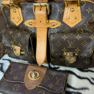 LOUIS VUITTON - 正規品!ルイヴィトン、マンハッタンバック、長財布はサービス!20日迄