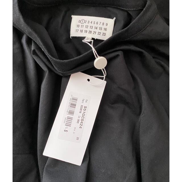 Maison Martin Margiela(マルタンマルジェラ)のMAISON MARGIELA ロング丈 五分袖 カットソー チュニック  レディースのトップス(カットソー(長袖/七分))の商品写真