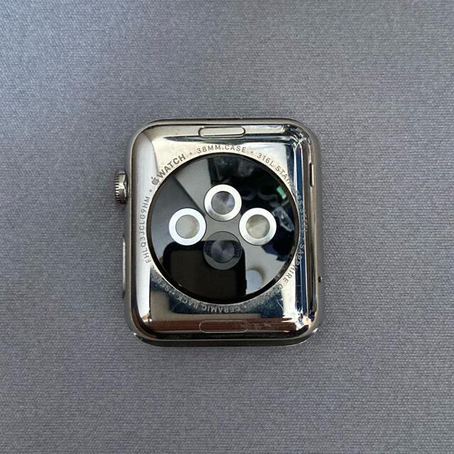 Apple Watch(アップルウォッチ)のApple Watch series1 38mm アップルウォッチ ステンレス メンズの時計(腕時計(デジタル))の商品写真