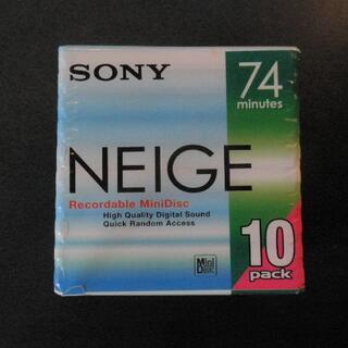 ソニー(SONY)のSONY MDディスク 未使用 10枚パック(ポータブルプレーヤー)