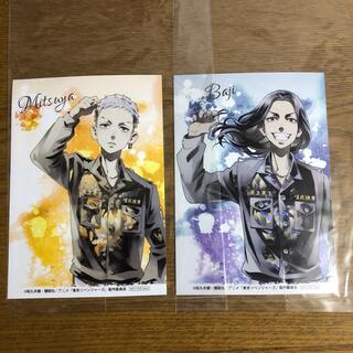 東京卍リベンジャーズ アニメイト限定特典 場地圭介  三ツ谷隆 ブロマイド
