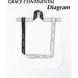 GRACE CONTINENTAL - GRACE CONTINENTAL Diagram ロゴ JQキャリーバッグ M