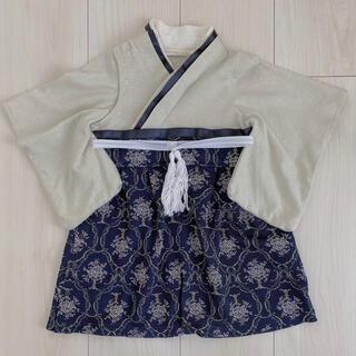 sweet mummy 袴ロンパース 50 60 70(和服/着物)