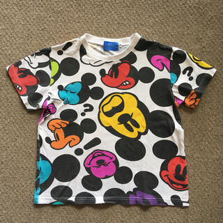 ディズニー(Disney)の130 ミッキーTシャツ(Tシャツ/カットソー)