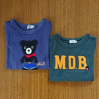 DOUBLE.B - ダブルビー 長袖Tシャツ 2枚セット まとめ売り