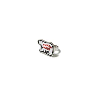 アベイシングエイプ(A BATHING APE)のHuman Made Polar Bear Ring(リング(指輪))