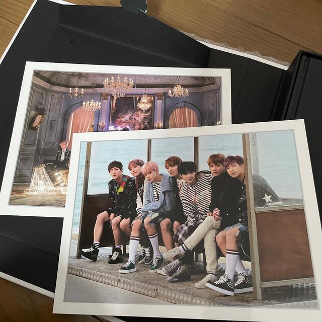 防弾少年団(BTS)(ボウダンショウネンダン)のBTS WINGS CONCEPT BOOK エンタメ/ホビーのタレントグッズ(アイドルグッズ)の商品写真