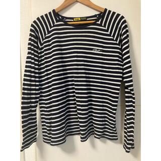 エクストララージ(XLARGE)のX-LARGE ボーダーシャツ(Tシャツ/カットソー(七分/長袖))