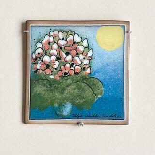 アラビア(ARABIA)のSSKK限定 2004年 ヘルヤ 陶板画 アラビア(置物)