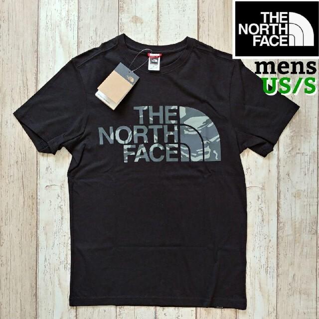 THE NORTH FACE(ザノースフェイス)の【海外限定】TNF メンズ ブラック 迷彩 Sサイズ メンズのトップス(Tシャツ/カットソー(半袖/袖なし))の商品写真