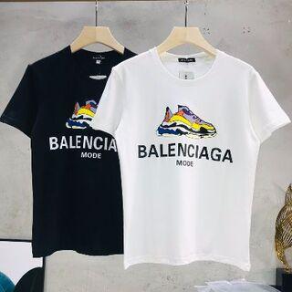 Balenciaga - 2枚9000BALENCIAGAー半袖Tシャツ