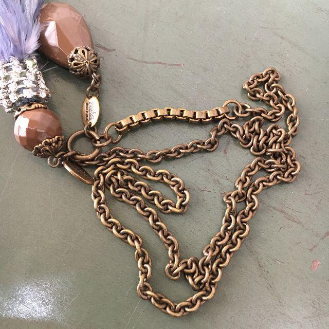 H.P.FRANCE(アッシュペーフランス)のイタリア製 RADA ラダ ネックレス USED レディースのアクセサリー(ネックレス)の商品写真