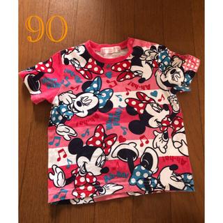 ディズニー(Disney)の子供服 ディズニーリゾート 半袖Tシャツ サイズ90(Tシャツ/カットソー)