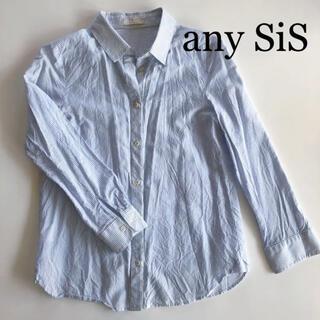 エニィスィス(anySiS)のany SiS ストライプ シャツ(シャツ/ブラウス(長袖/七分))