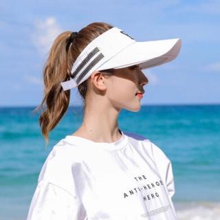 ゴルフ サンバイザー UVカット 紫外線対策 スポーツ ギフト 帽子 レディース