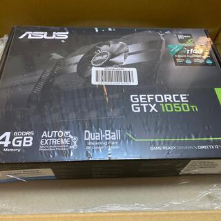 ASUS - [新品/未開封] ASUS GTX1050TI 4Gグラフィックボード