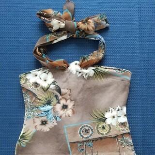 日本製/ホルターネック&羽織り2点セット/sizeM//(ホルターネック)