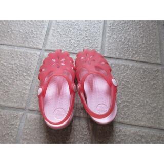 クロックス(crocs)のクロックス サンダル C9 16.5センチ(サンダル)