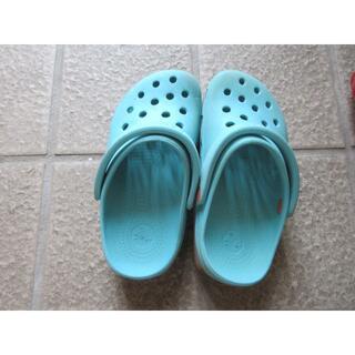 クロックス(crocs)のクロックス サンダル 10,11 17.5から18センチ(サンダル)