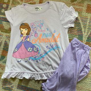 ディズニー(Disney)のちいさなプリンセスソフィア 120cm半袖パジャマ(パジャマ)