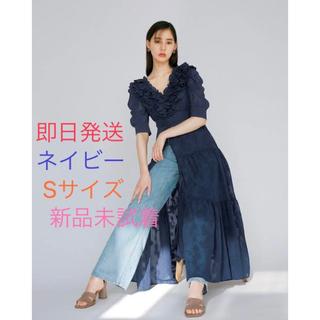 snidel - SNIDEL 新木優子 sweet コラボワンピース ✨ネイビー Sサイズ✨