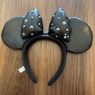 ディズニー(Disney)のディズニーカチューシャ レザーミニーちゃん(キャラクターグッズ)