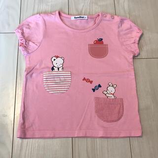 familiar - 美品 ファミリア  Tシャツ 100