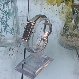 グッチ(Gucci)のGucci YA015555 1500シリーズ ブラック 1Pダイヤ レディース(腕時計)