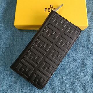FENDI - ブラック♡メンズ長財布♡fendi コインケース