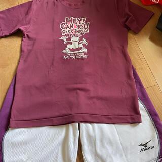 ミズノ(MIZUNO)のバスケ上下セット(バスケットボール)