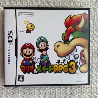 ニンテンドーDS(ニンテンドーDS)の【中古】 DS  マリオ&ルイージRPG3!!!(携帯用ゲームソフト)