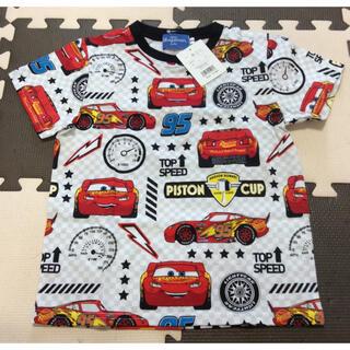 ディズニー(Disney)の【新品未使用】カーズ 半袖Tシャツ 110(Tシャツ/カットソー)