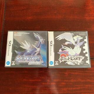 ニンテンドーDS(ニンテンドーDS)のポケットモンスター DS ダイヤモンド ブラック ソフト(携帯用ゲームソフト)