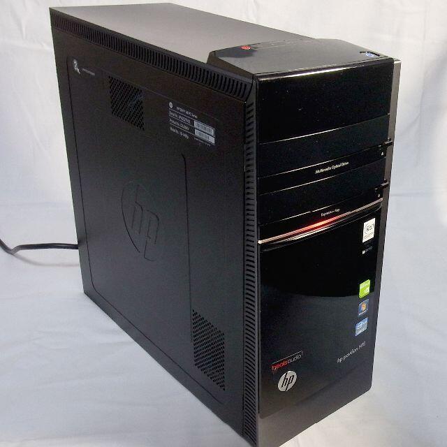 HP(ヒューレットパッカード)のHP Pavilion h8シリーズ ブルーレイ Win10+オフィス2019 スマホ/家電/カメラのPC/タブレット(デスクトップ型PC)の商品写真
