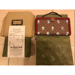 Gucci - GUCCI✖︎ドラえもん 長財布