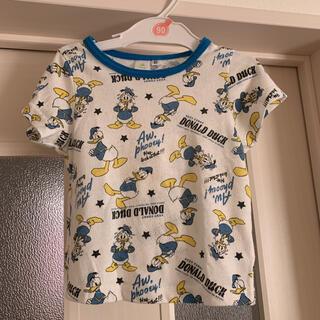 ディズニー(Disney)のDisney DONALD 半袖 ティシャツ   90  (Tシャツ/カットソー)