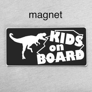 マグネット/キッズインカー テラノザウルス/ベビーオンボード 防水