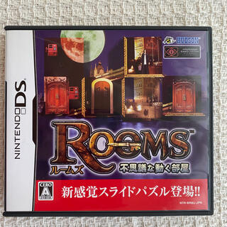 ニンテンドーDS(ニンテンドーDS)の【中古】DS  Rooms ルームズ(携帯用ゲームソフト)