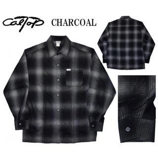 CALTOP - 【新品未使用】CalTop カルトップ ネルシャツ Lサイズ チャコール