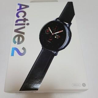 ギャラクシー(Galaxy)の新品未開封 Galaxy Watch Active2 40mm Black (その他)