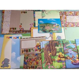 ディズニー(Disney)のディズニー レターセット メモ ポストカード など セット(キャラクターグッズ)