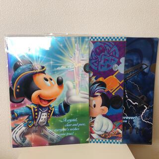 ディズニー(Disney)の【新品未開封】ディズニー クリアファイルセット【おまけつき】(キャラクターグッズ)