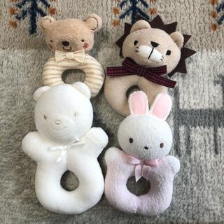 familiar - 新生児 ベビー ガラガラおもちゃ ラトル