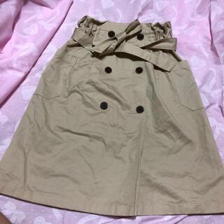 ジーユー(GU)のGU トレンチスカート(スカート)