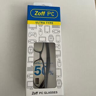 ゾフ(Zoff)のzoff PC ゾフ ブルーライト 50% カット メガネ PCメガネ(サングラス/メガネ)